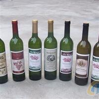 墨绿色红酒瓶冰酒瓶