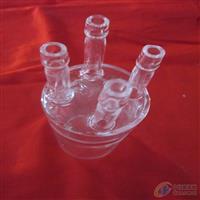 四口直管接气 石英玻璃制品