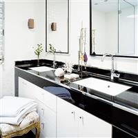 供应8~19mm黑色卫浴玻璃原片