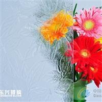 供应压花玻璃―枫叶3号