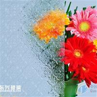 供应压花玻璃―海棠