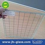 广州嘉颢直供6mm 6.8mm夹丝玻璃 国产进口定做