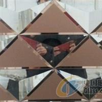 5厘粉/金/银镜玉砂+10厘超白 河北工艺镜子、玻璃镜