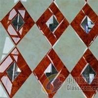 5厘大理石+10厘超白+木纹大理石、河北高档工艺镜
