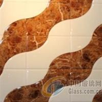 5厘大理石+超白烤漆异形 、沙河拼镜
