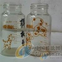 玻璃渗透渗出油墨奶瓶公用