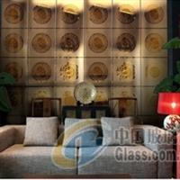 至尊黑金 镜砖-罗马浮雕系列