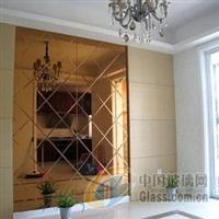 扬州菱形玻璃拼镜丈量定做装置