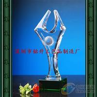 赛事活动水晶奖座高档水晶奖牌