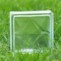 蒙砂双星纹玻璃砖