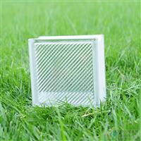 光线纹玻璃砖