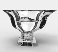 台州采购-水晶玻璃糖果罐 玻璃罐