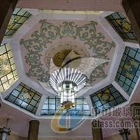 供应欧式彩色玻璃穹顶