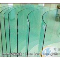 5mm 弯钢化玻璃