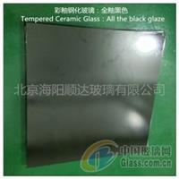 彩釉钢化玻璃:全釉黑色