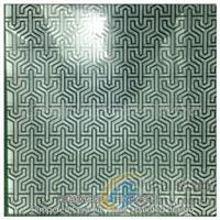 彩釉钢化玻璃:印花图案