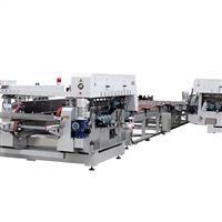 L型自动双边磨边生产线