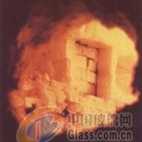 玻璃窑炉熔池胸墙陶瓷焊补热态修复
