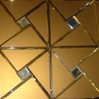 3mm金茶色银镜