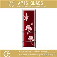 冰箱门面板丝印玻璃