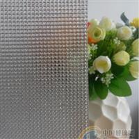 广州压花玻璃-超白大银珠