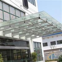 南京夹胶钢化玻璃雨棚制作