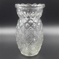 供应菠萝玻璃烛台