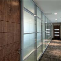 郑州钢化玻璃隔断 办公室高隔断