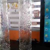 明料龙形玻璃直筒
