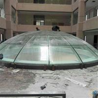 广东地区热弯玻璃采光顶供应