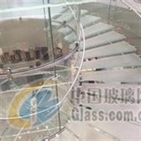 商场别墅店面家居钢化安全玻璃楼梯