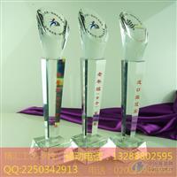 珠海企业活动比赛水晶奖杯定做