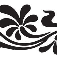 供应高档logo图案艺术玻璃