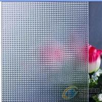 5MM优质钢化压花玻璃
