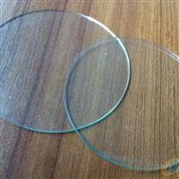 供应LED照明圆形钢化灯具玻璃