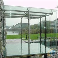 安装商场玻璃门安装浴室玻璃镜子