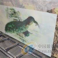 数码陶瓷印刷玻璃订做