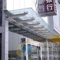 潍坊安装玻璃雨棚1做雨棚