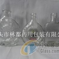 泊头林都现货供应120ml保健酒瓶 药用玻璃瓶