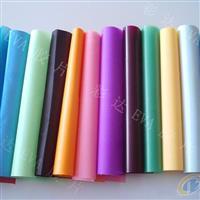供应优质彩色玻璃装饰胶片