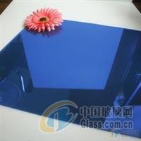 宝石蓝镀膜玻璃