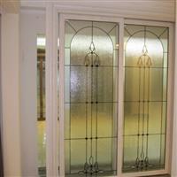 铜条镶嵌工艺玻璃