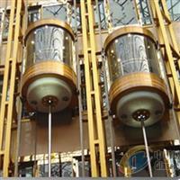 大连专业设计安装高品质玻璃观光电梯