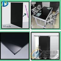 深圳钢化黑色油漆玻璃
