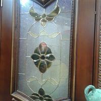 铜条镶嵌玻璃