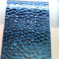 现货供应蓝色水立方压花镜