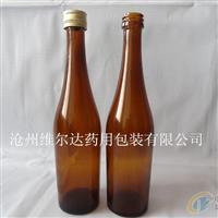 泊头林都现货供应125毫升保健酒瓶 药用玻璃瓶