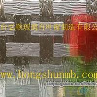 竹编压延玻璃