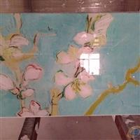 彩绘玻璃 装饰背景墙玻璃