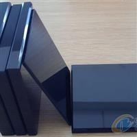 供应8~19mm的原片黑色玻璃